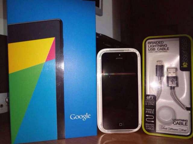 Nexus 7 2013 Y iPhone 5C