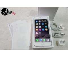 Iphone 6 plus de 64gb silver en caja como nuevo con todos los accesorios vendo o acepto cambios&#x21