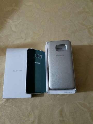 Samsung S6 Edge Verde Exelente Estado