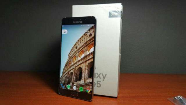 Samsung Galaxy Note 5 titanium Gray