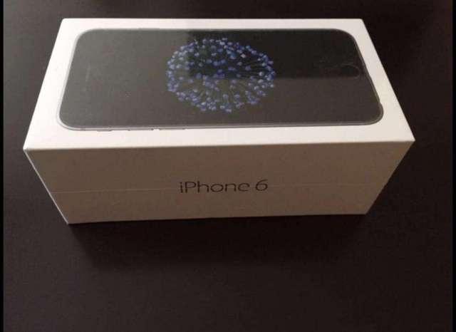 iPhone 6 32 Gb Space Gray Nuevo Sellado!