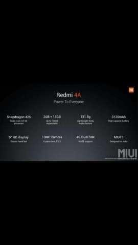 Cambio Xiaomi Redmi 4a parlante Bluetoo