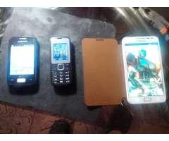 Celulares Samsug Y Nokia