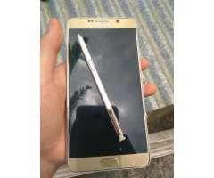 Samsung Galaxy Note 5 mínimo Detalle