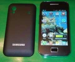 Samsung Galaxy Ace cualquier operador de telefonia movil.