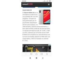 Xiaomi Redmi S2 Tengo Vuelto Par Uno Mej