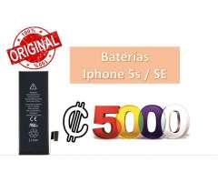 REMATE! Baterías para Iphone 5s y SE 100% originales con garantía!...
