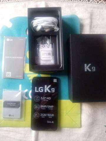 Nuevo Lg K9 1 Año Garantia