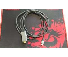 Cable video HDMI slimport para Samsung S8 AC1011 y más