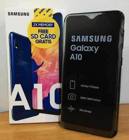 Samsung A10 con Caja Accesorios Factura