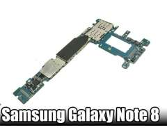 Tarjeta Madre de Samsung Note 8.