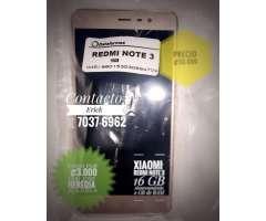 Xiomi Redmi Note 3