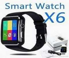 Reloj Inteligente Smart Watch X6 Android Iphone 2019