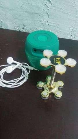 P. Bluetooth, Audífonos, Soporte Celular