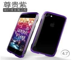 Estuche iPhone 7 Aluminio Morado 2018