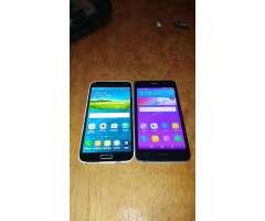 Samsung S5 Y Huawei Y6