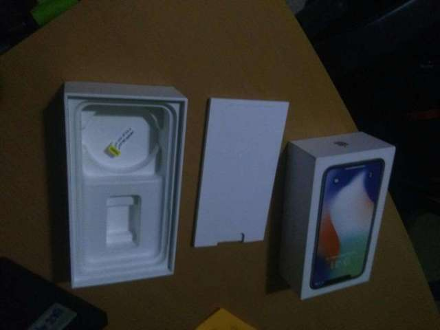 Caja Original iPhone X 256 Gb