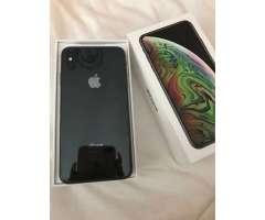 Iphone XS Max Plus 256GB negro gris Nuevo accesorios sin usar X 10