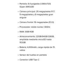 Samsung A30s Nuevo vendo/cambio